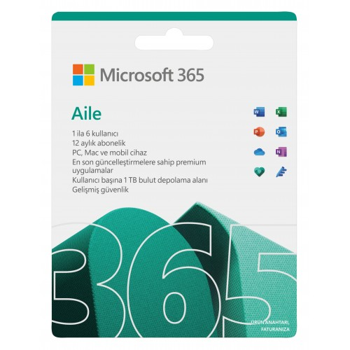 Office 365 Ev - Elektronik Lisans