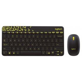 LOGITECH Kablosuz Q TR Siyah Klavye,Mouse Set 920-008215