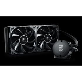 DEEPCOOL Intel ve AMD Soket Beyaz Sıvı Bazlı İşlemci Soğutucu MAELSTROM_240T_WH