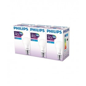 Philips ESS LED 5.5-40W Beyaz Işık Normal Duy 3lü Ekopaket