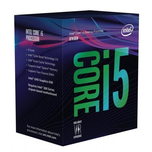 INTEL CORE i5-8500 4.10GHz 9MB 1151p 8.NESİL