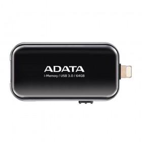 ADATA 64GB i-Memory USB3.0 Siyah USB Bellek AUE710-64G-CBK
