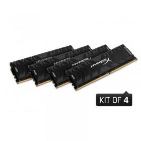 KINGSTON 32GB (4x8GB) 3200MHz DDR4 HyperX PC Kutulu Gaming RAM HX432C16PB3K4-32