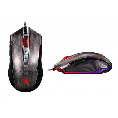 BLOODY P93  5000CPI RGB  GAMER MOUSE USB GRİ