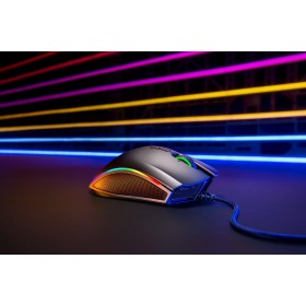 RAZER Mamba Elite Kablolu Optik 16000DPI Siyah Gaming Mouse RZ01-02560100-R3M1