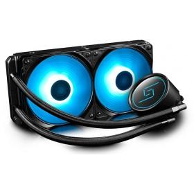 DEEP COOL GAMMAXX L240 RGB 240MM İNTEL-AMD UYUMLU İŞLEMCİ SIVI SOĞU