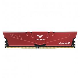 8 GB DDR4 3000 Mhz T-FORCE VULCAN Z RED 8GBx1 TEAM TLZRD48G3000HC16C01