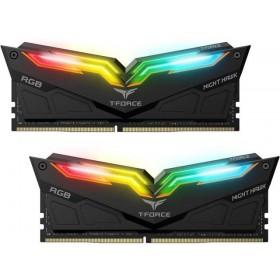 16 GB DDR4 3600 T-FORCE NIGHT HAWK RGB BLACK 8x2 TEAM TF1D416G3600HC18EDC01