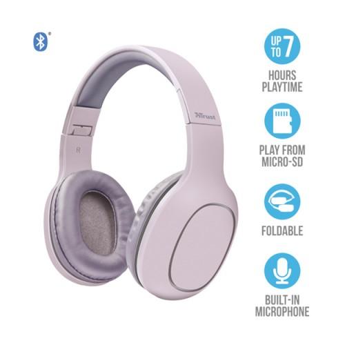 Trust 22889 Dona Bluetooth Kulaklık Pembe