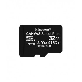 Kingston 32GB microSDHC Canvas Select Plus 100R A1 C10 Card + Adapter