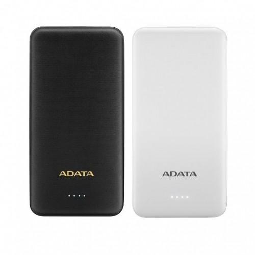 ADATA 10000mAh 37Wh+DC 5V /  2.0A Taşınabilir Şarj Cihazı Powerbank Beyaz AT10000-USBA-CWH