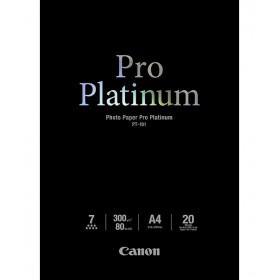 Canon PT-101 Pro Platinum Photo Paper A4 - 20 Sheets 2768B016