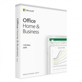 MICROSOFT MS OFFICE 2019 HOME AND BUSINESS TURKCE KUTU T5D-03334
