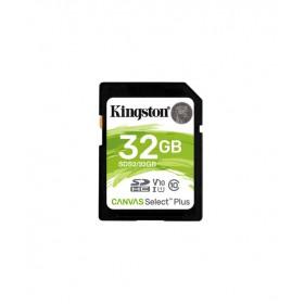 Kingston 32GB SDHC Canvas Select Plus 100R C10 UHS-I U1 V10